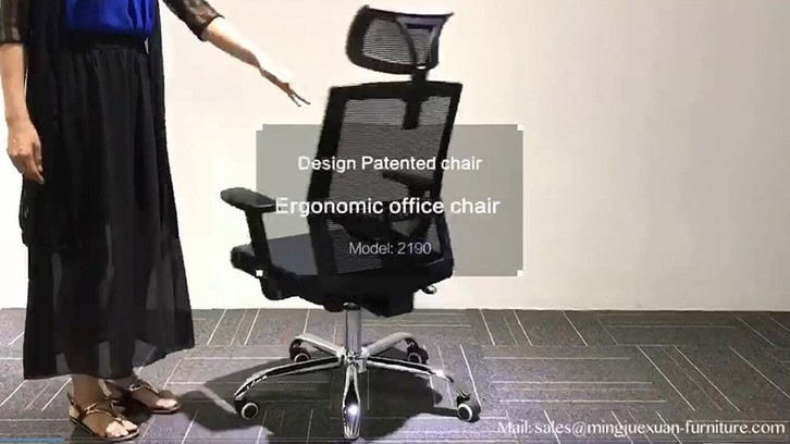 Factory Supply styling chair sillas de oficina office mesh chair Mingjuexuan A2190