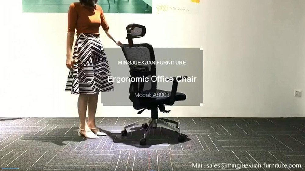 Best sale office chair mesh chair vedio Mingjuexuan A8083