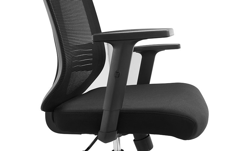 Custom desk multifunction mesh office chair NOEL black