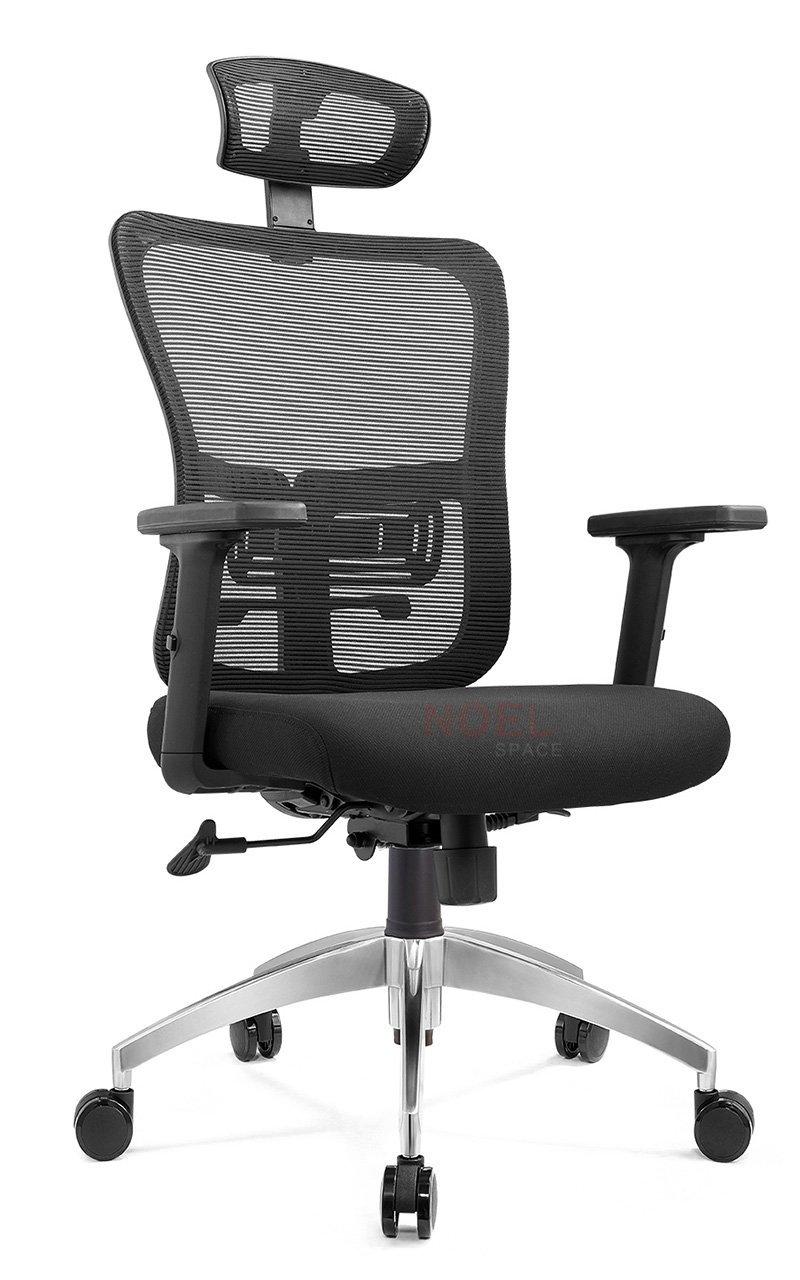 top black mesh office chair adjustable height function NOEL Brand