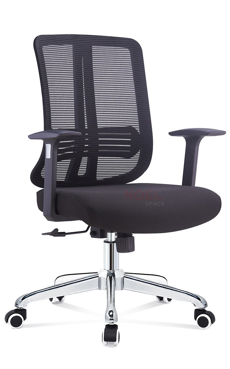 Custom manager mesh office chair aluminium NOEL