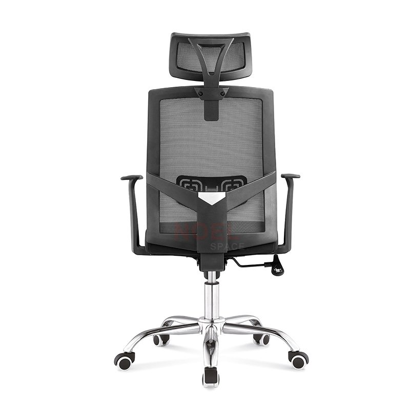 High back ergonomic adjustable headrest mesh swivel chair  2190