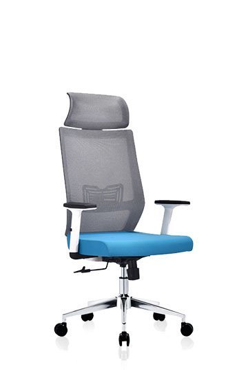 Ergonomic high back mesh office chair with headrest