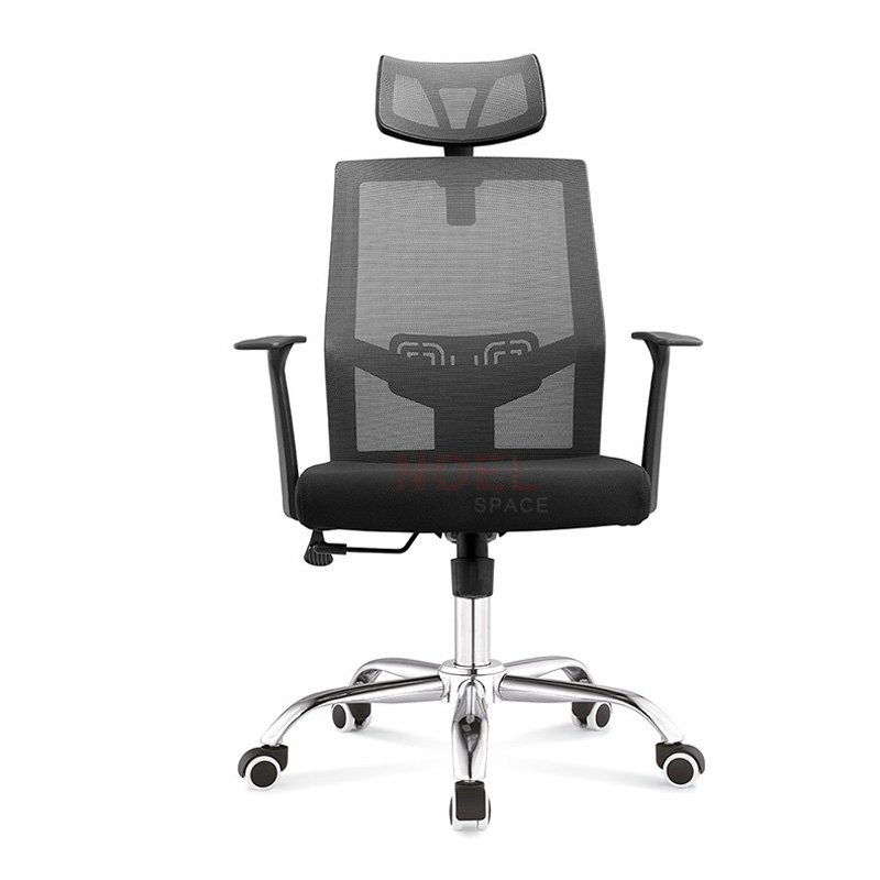 High back ergonomic adjustable headrest mesh swivel chair  2190