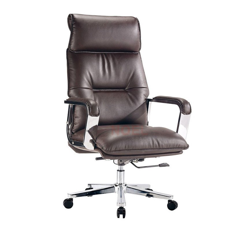 High quality swivel back reclining big boss office chair leather chair  2166