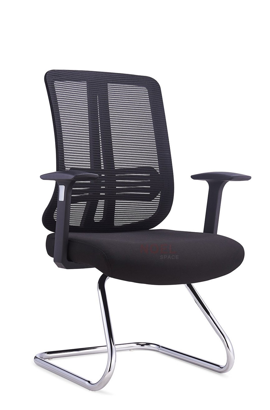 Custom manager mesh office chair aluminium NOEL