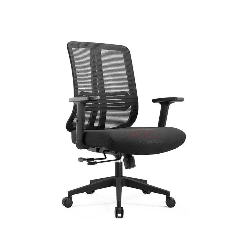 Sliding function mid back height adjust mesh computer chair  B2320