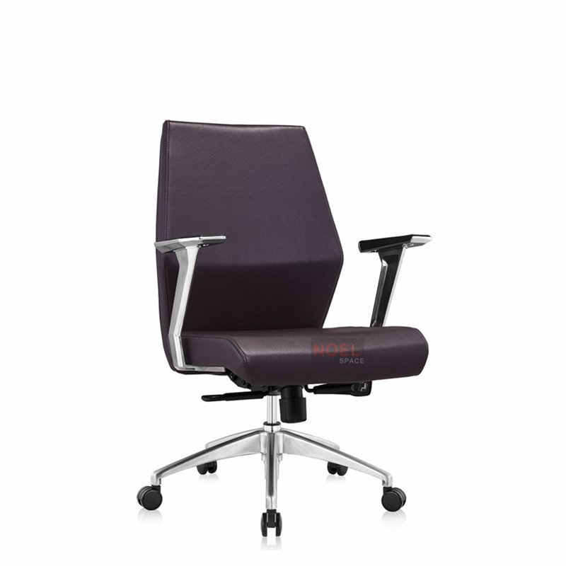 China Manufacturers Office Chair PU mid back chair B2306