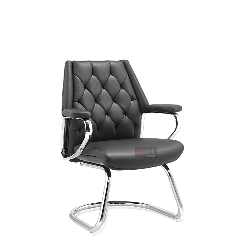 Office chair executive conference chair without wheels D2388