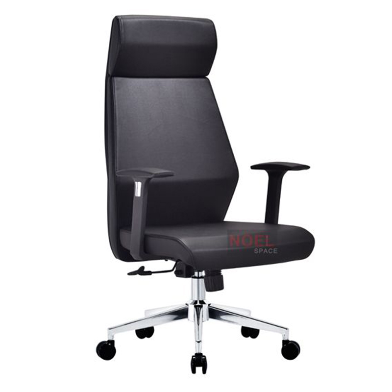 High quality  ergonomic PU office chair with chromed base A2801
