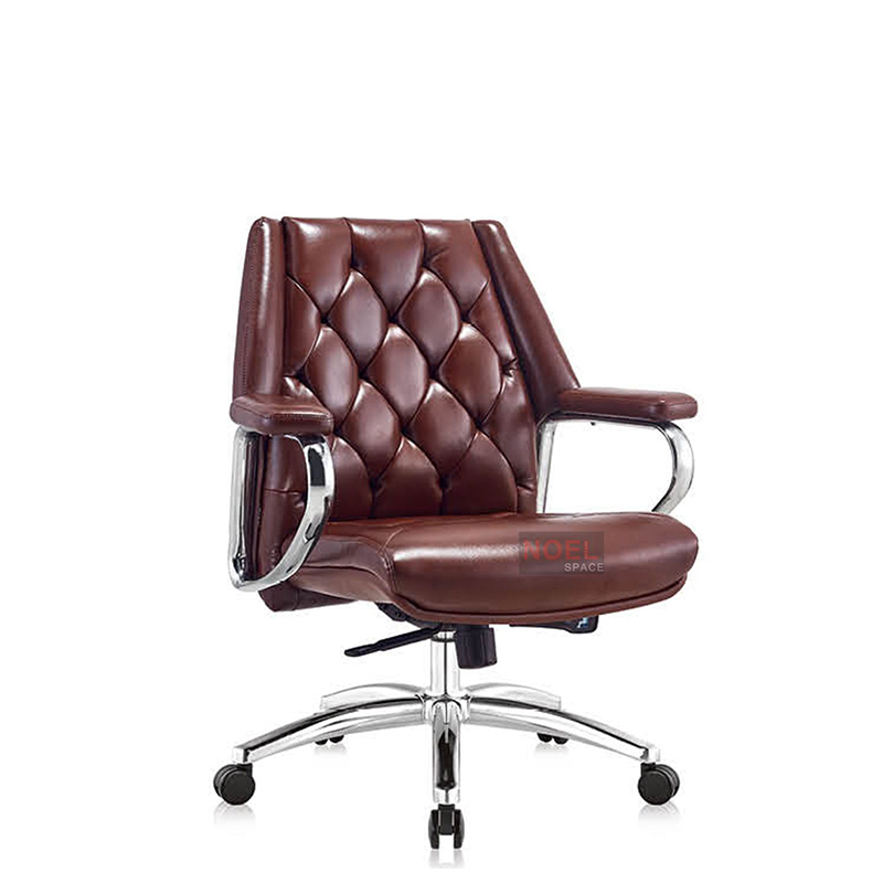 Adjustable office chair comfortable PU chair B2388 (brown)