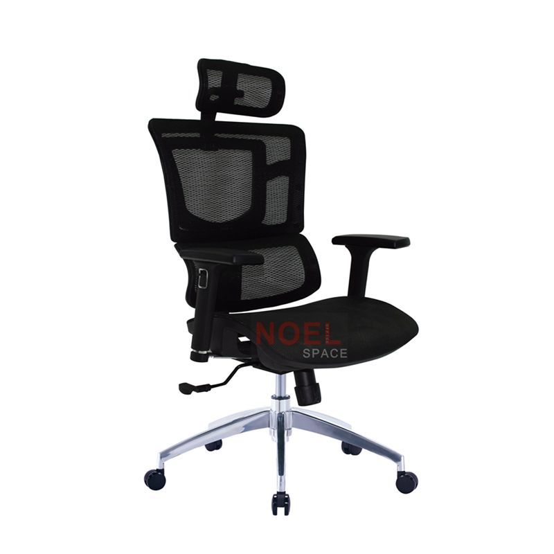 Black mesh high back ergonomic office seatings computer chair