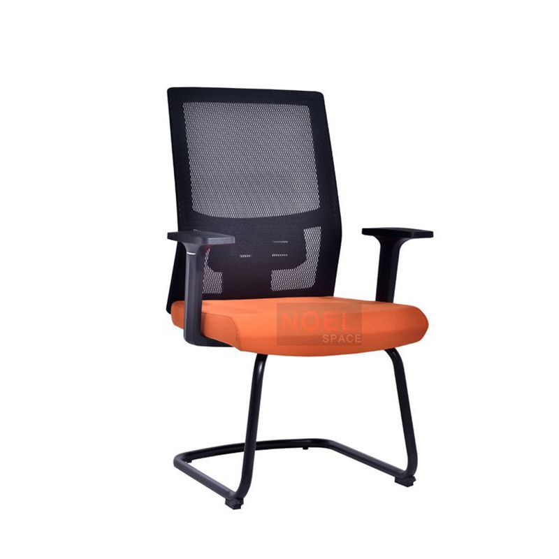 Simple design conference room mesh training chair
