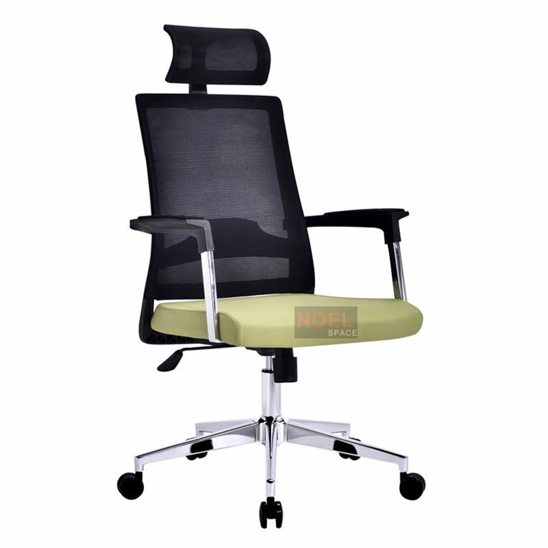 Office chair mesh executive chairs ergonomic office chair A2620 Green & black