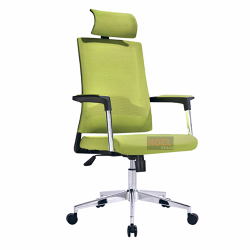 Good quality colorful fabric high back task seat ergonomic office mesh chair A2620