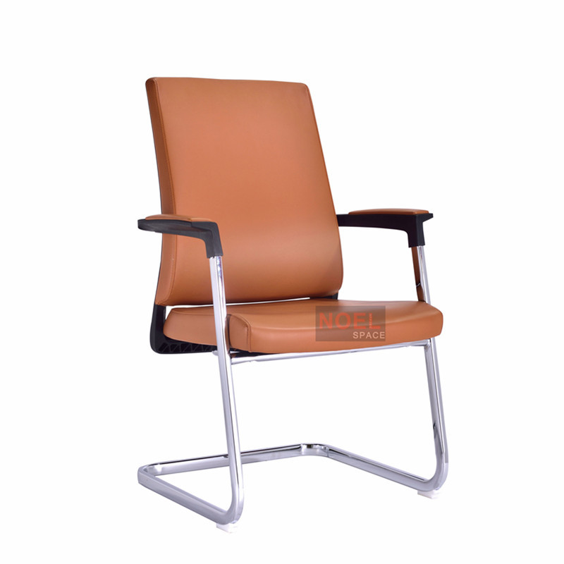 Small project cheap competitive price conference chair D2623 brown