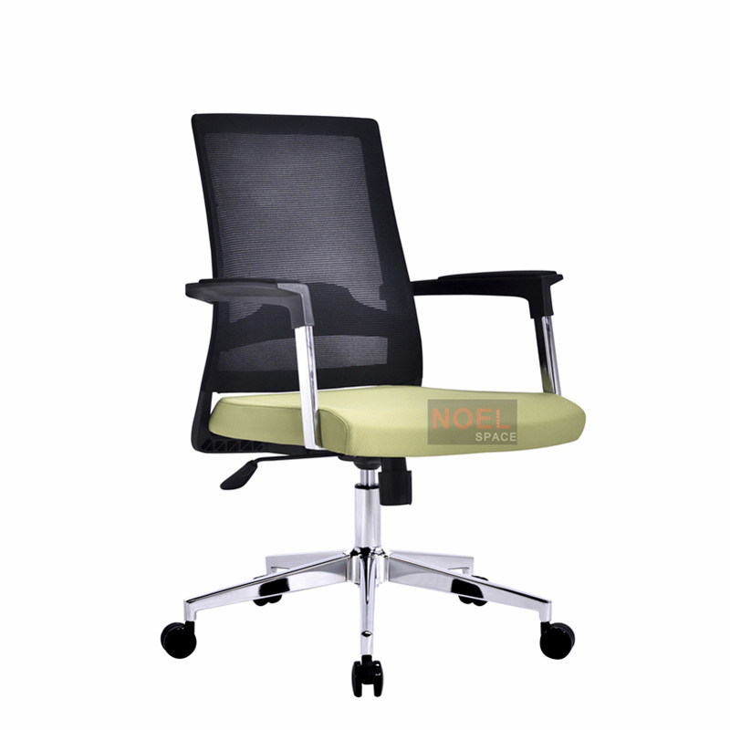 2018 Top Selling office mesh back fabric furniture executive mesh chair B2620 Green & black