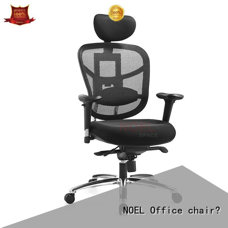NOEL Brand fabric selling manager black mesh office chair