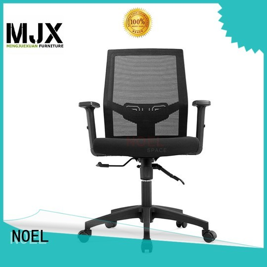 base black mesh office chair computer NOEL company