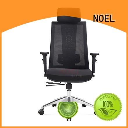 mid desk mesh office chair black task NOEL company