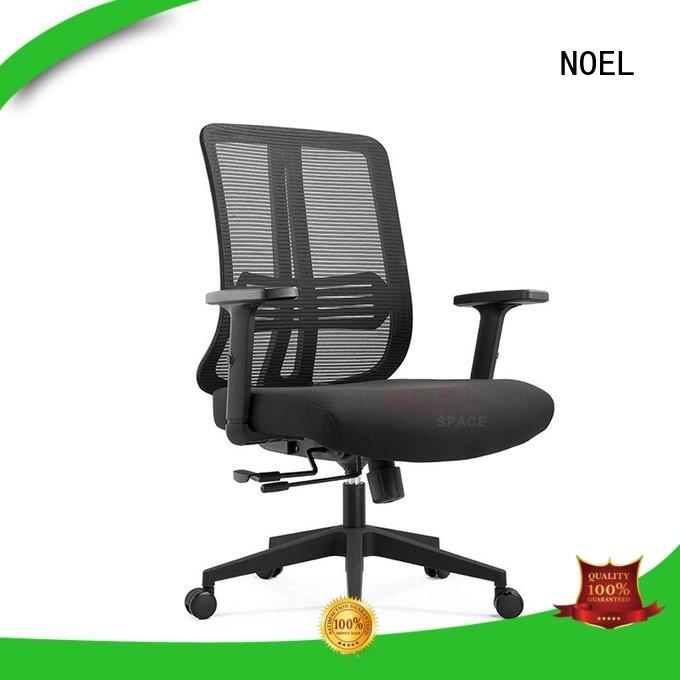 black mesh office chair adjustable height desk mesh office chair seat NOEL Brand