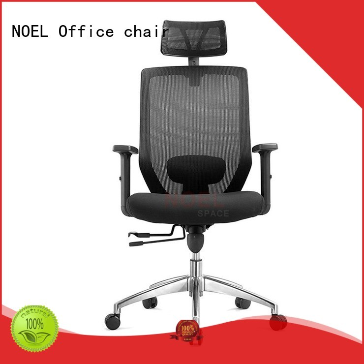 black mesh office chair computer seat task NOEL Brand company