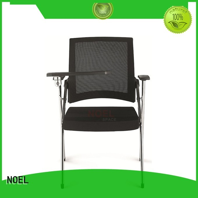 economic visiting NOEL Brand chair with writing tablet
