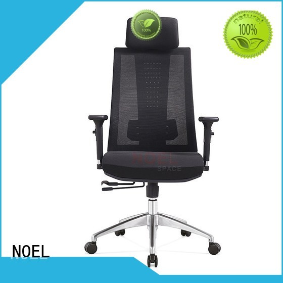 Quality NOEL Brand black mesh office chair back