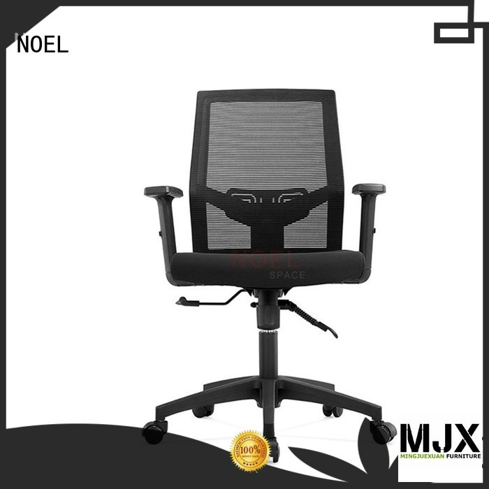 NOEL Brand comfortable top black mesh office chair mid