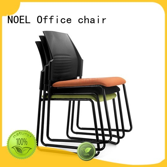 black sales padded NOEL Brand stackable chairs supplier