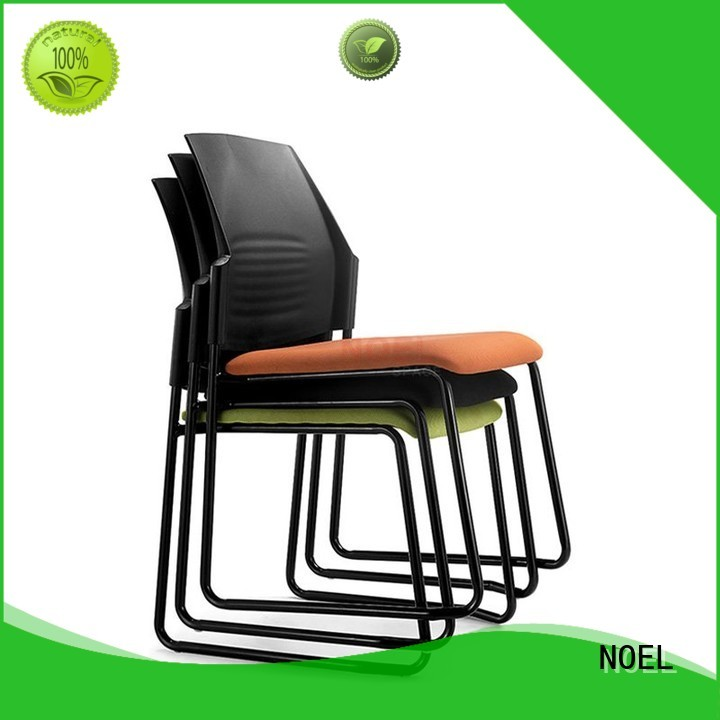 NOEL Brand seat training frame coating stackable chairs