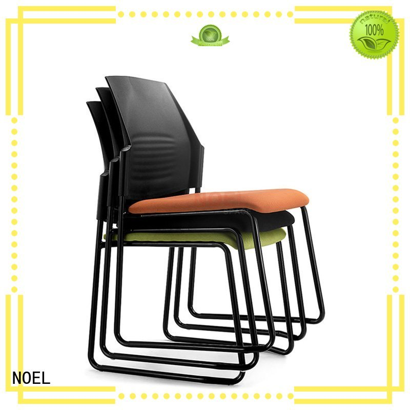 NOEL Brand sales training padded frame stackable chairs