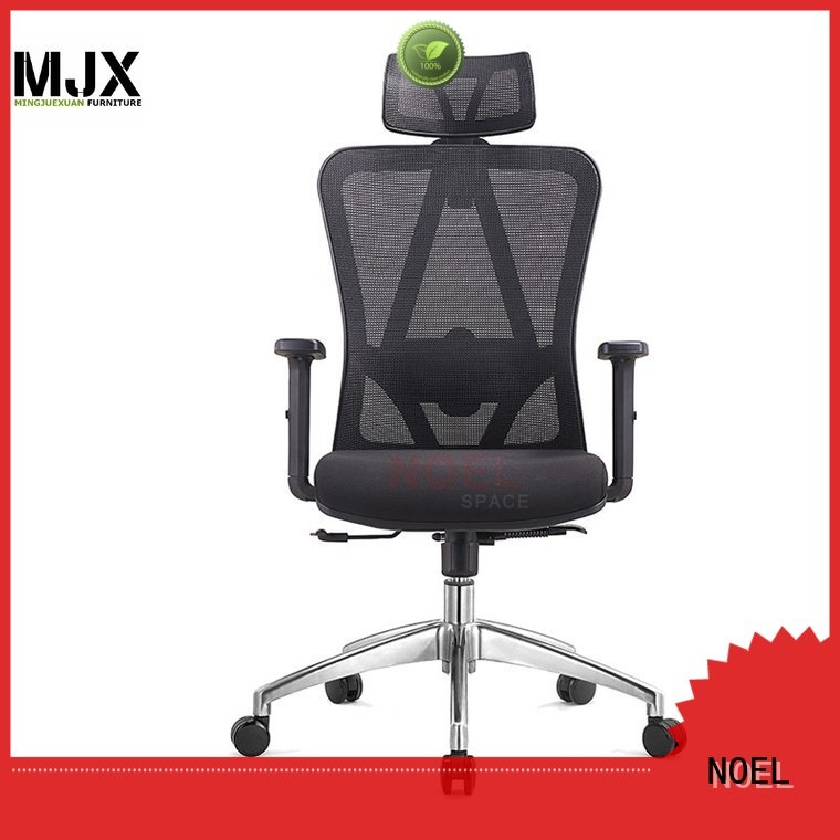 black mesh office chair manager computer seat NOEL Brand mesh office chair