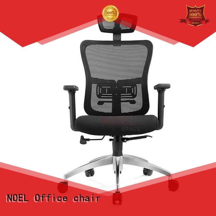 NOEL Brand nylon quality black function mesh office chair