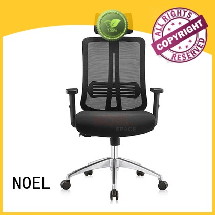 Custom desk multifunction mesh office chair NOEL black