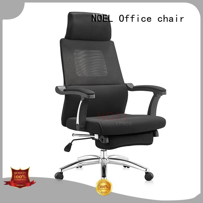 NOEL Brand office height control fabric recliner chair high density sponge supplier
